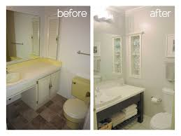 Before And After Home Decor by Small Bathroom Bathroom Renovation Before And After Home Design