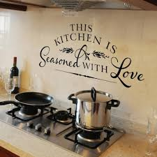 Dining Room Decals Kitchen Classy Kitchen And Dining Room Decoration Using Quote