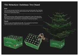 tree stand heineken direct marketing
