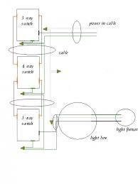 4 way light switch wiring how to wire a 4 way light switch with wiring diagram dengarden