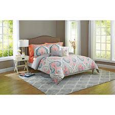 Grey Twin Bedding Better Homes U0026 Gardens Grey Medallion King 5 Pc Comforter Set