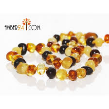 baby bead necklace images Baltic amber teething necklaces jpg