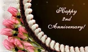 second year wedding anniversary second anniversary wishes wishes greetings pictures wish
