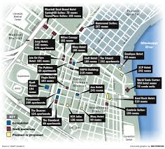 New Orleans Map Of Hotels by Central Business District Riding Wave Of Hotel Condo Projects As