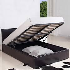 catchy double bed ottoman 4ft small double leather ottoman storage