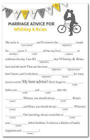 bridal mad libs printable wedding mad lib weddings by lilly