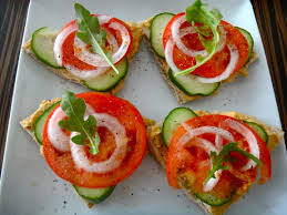 traditional canapes hummus canapés healthy whole