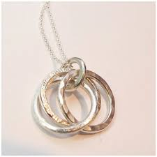 russian wedding ring three ring hammered russian wedding ring pendant ted s jewellery
