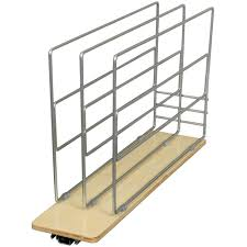knape u0026 vogt 14 in x 5 44 in x 22 25 in tray divider roll out