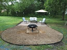 handmade fire pit the dabbling crafter diy sunday fire pit gravel patio