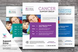 support group flyer templates by kinzi21 on creative market