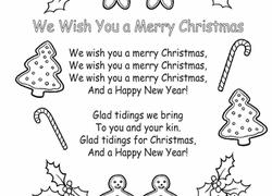 we wish you a merry lyrics worksheet education