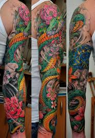 tattoo yakuza lengan super bright colours tattoo by dmitriy samohin tatts pinterest