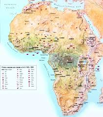 Africa Colonial Map by Maps Of Africa