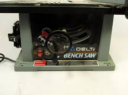 delta 10 bench saw model 36 540 type 2 what u0027s it worth