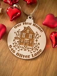 first home ornament first home gift first home christmas