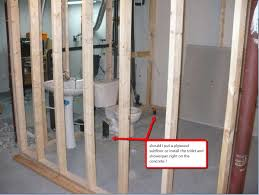 how to install a toilet in the basement basements ideas with how