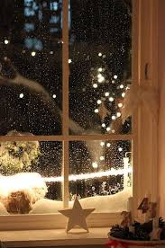 christmas snow winter holiday lights cold warm december cozy star