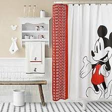 mickey mouse bathroom ideas disney shower curtain free home decor techhungry us