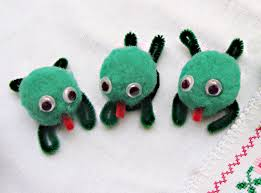 passover plague toys pom pom critters for pesach or anytime frogs craft and sunday
