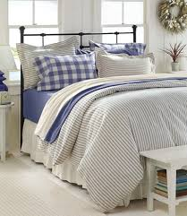 ticking stripe comforter ticking stripe quilted bedding equalvote co