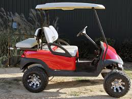 red club car precedent with 2012 batteries golf cart for sale