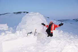 ron wassink igloo a house made of snow on the arctic tundra