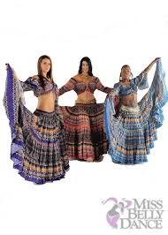 Belly Dance Halloween Costume Belly Dancer 25 Yard Skirt Costume Meli Du Chant