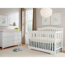 broyhill kids bowen heights 4 in 1 convertible crib white