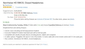 amazon black friday deal page bang u0026 olufsen beoplay h6 2nd generation vs sennheiser hd 598