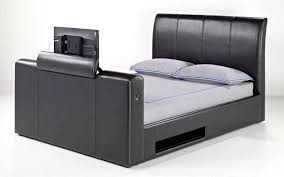 Bed Frame With Tv In Footboard Beds With A Tv Custom Bed With Lift 1 Bed Footboard Tv Mount