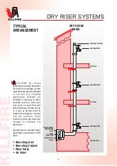 Dry Riser Cabinet Dry Riser System