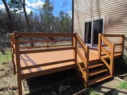 Pictures Of Painted Decks by Decks And Porches A Team Inc General Contracting Painting