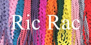 ric rac ribbon ric rac