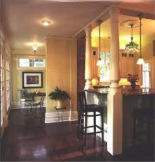 Kitchen Island Columns Kitchen Island With Columns Style And Design House Furniture