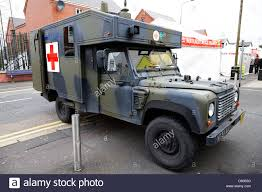 british land rover defender british army territorial army ambulance land rover defender