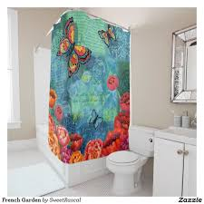 Modcloth Shower Curtain French Garden Shower Curtain Garden Shower