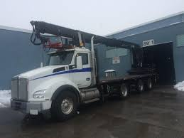 kenworth concrete truck boom trucks bik hydraulics