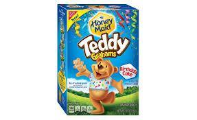 teddy gram delivery honey birthday cake teddy grahams 2015 06 19 snack and bakery