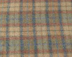 soft pastel plaid felted wool fabric for rug hooking wool