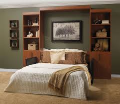 modern murphy bed bedroom