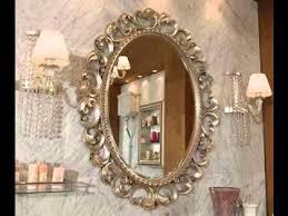charming decorative bathroom mirrors oval bathroom mirrors ashton