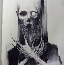 25 beautiful horror art ideas on pinterest creepy art scary