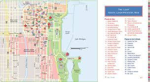 Chicago Sights Map by The Little Black Book Of Chicago 2013 Edition Margaret Littman