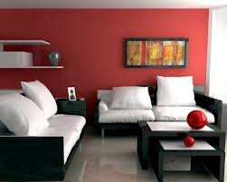 red and black living room ideas cream wall color paint black bird