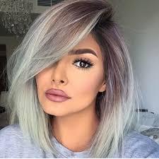 trendy grey hair 28 trendy grey hair color ideas to rock styleoholic