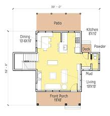 narrow cottage plans modern cottage plans planinar info