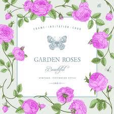 flower butterflies vintage card free vector download 26 320 free