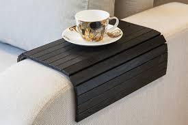 plateau pour canapé canapé noir plateau de table plateau table canapé bras table