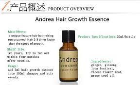 Natural Hair Growth Treatments Andrea Hair Growth Liquid Essence